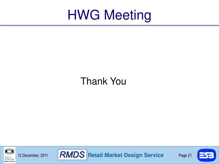 HWG Meeting