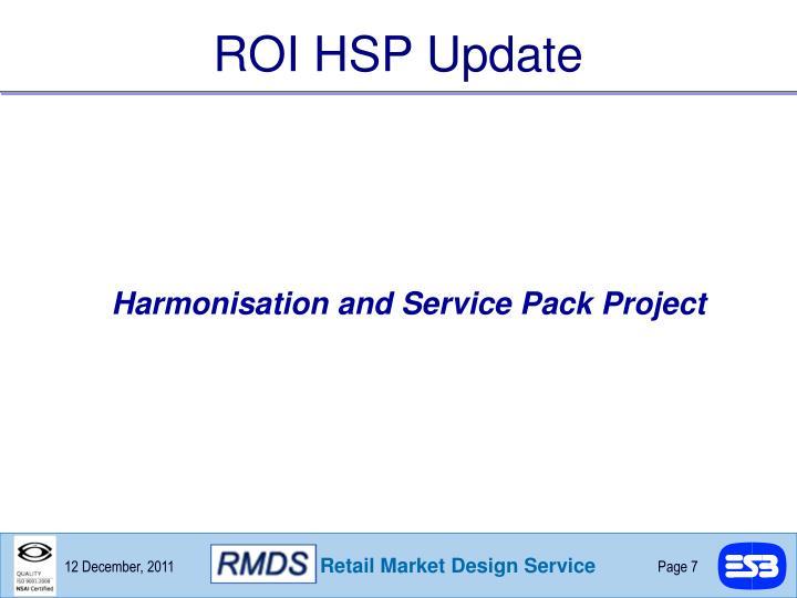 ROI HSP Update