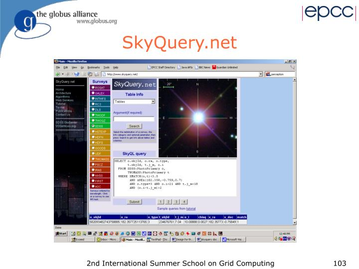 SkyQuery.net