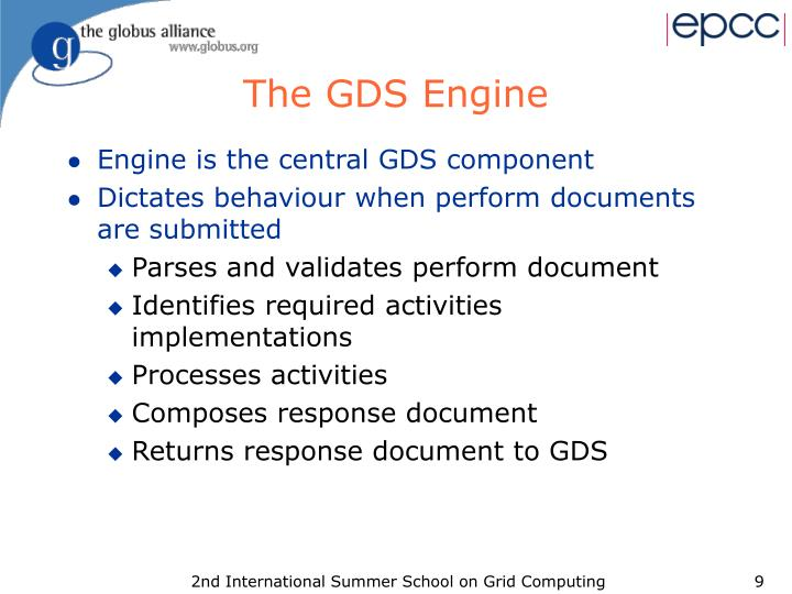 The GDS Engine