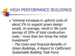 high performance buildings1