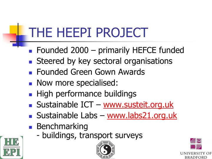 The heepi project