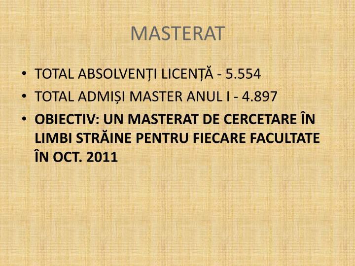 MASTERAT