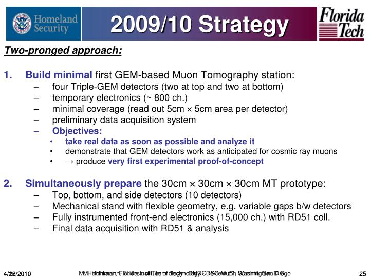2009/10 Strategy