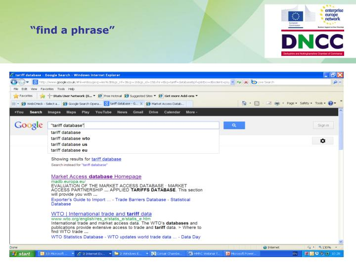 """""""find a phrase"""""""