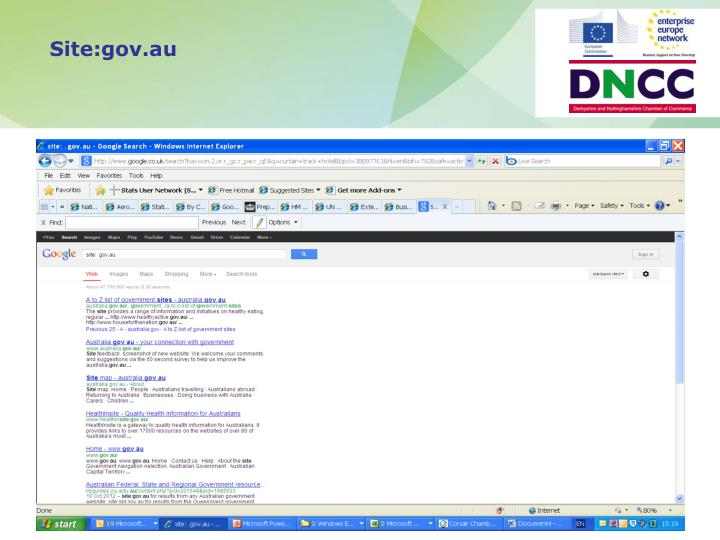 Site:gov.au