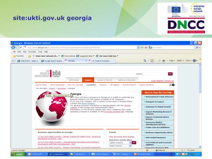 site:ukti.gov.uk georgia