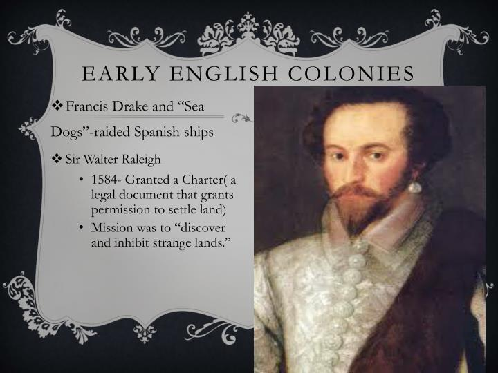 Early English Colonies