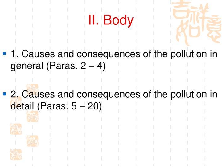 II. Body
