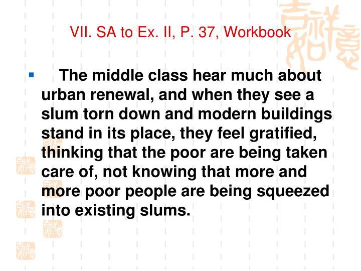 VII. SA to Ex. II, P. 37, Workbook