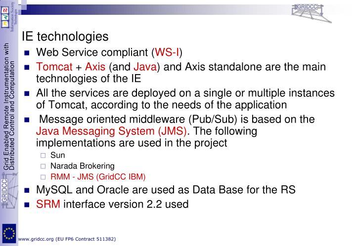 IE technologies