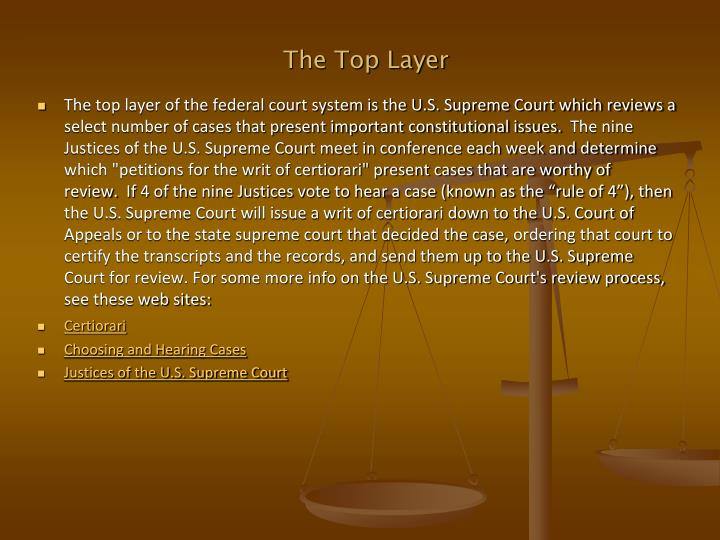 The Top Layer