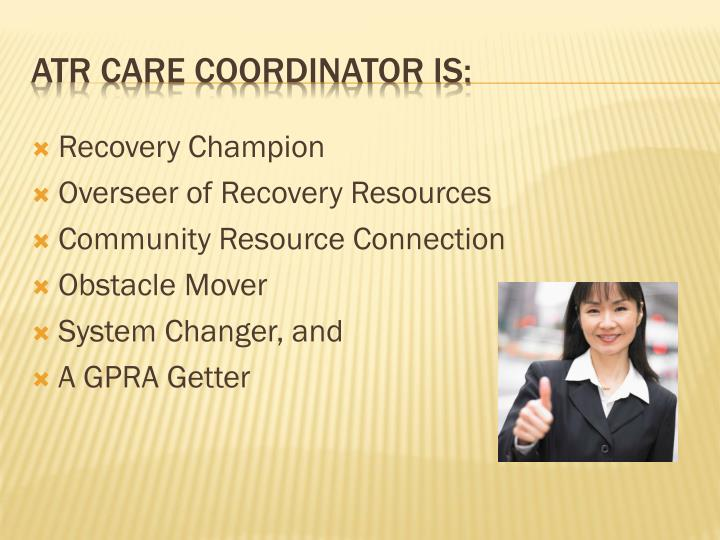Recovery Champion