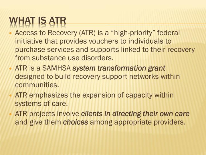 What is atr