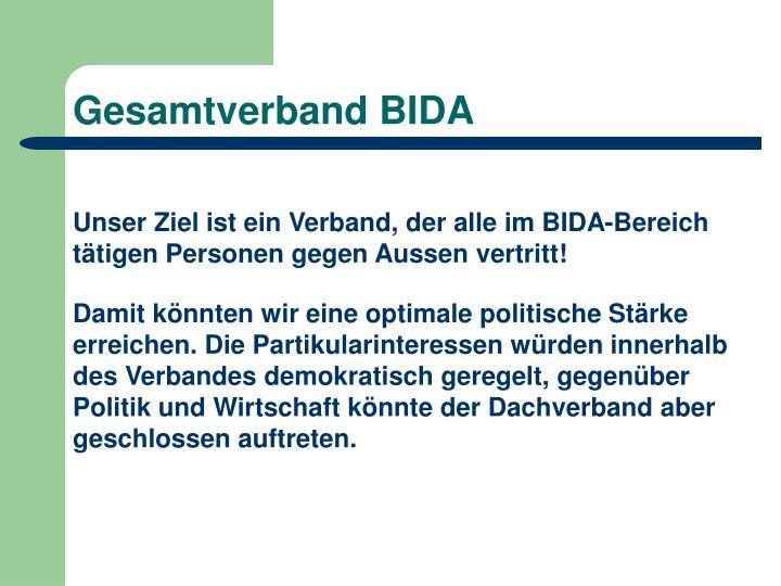 Gesamtverband BIDA