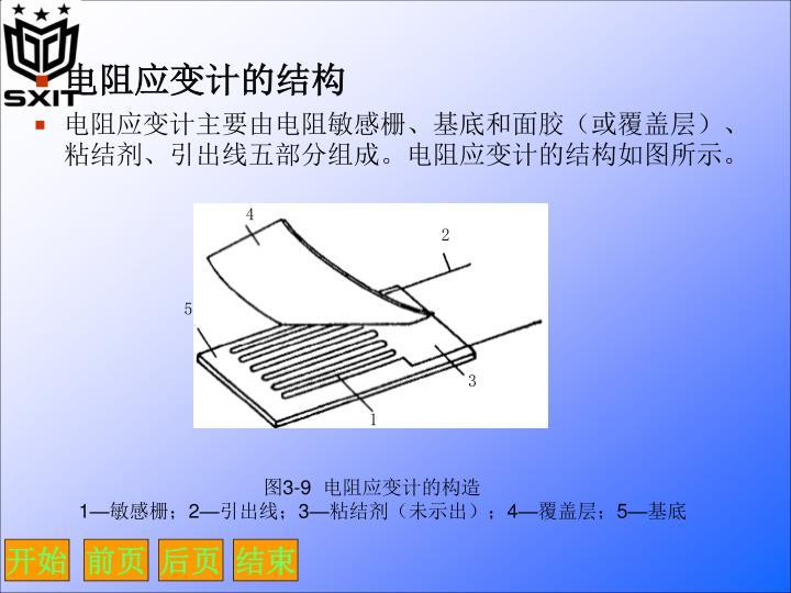 电阻应变计的结构