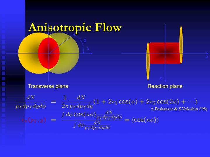 Anisotropic Flow