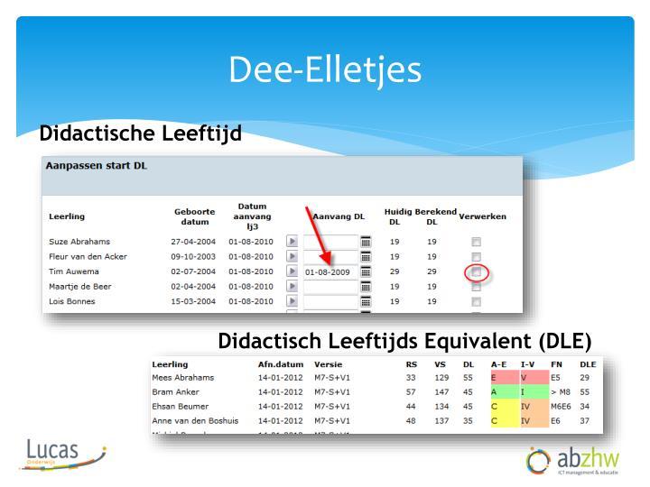 Dee-Elletjes