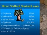 direct stafford student loans