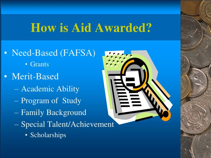 How is Aid Awarded?