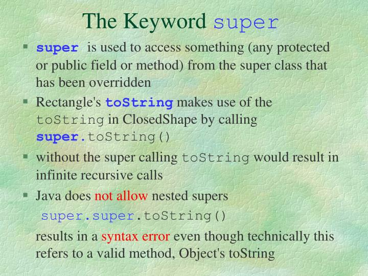 The Keyword