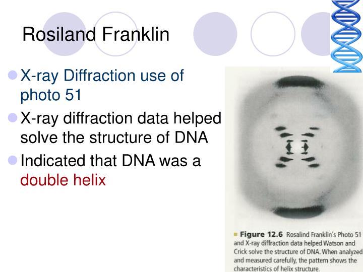 Rosiland Franklin