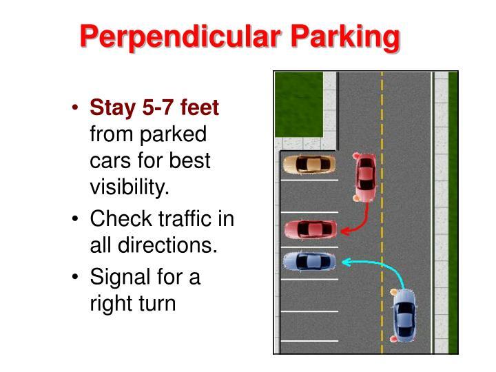 Perpendicular Parking