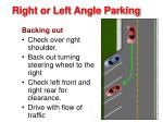 right or left angle parking3
