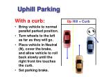 uphill parking