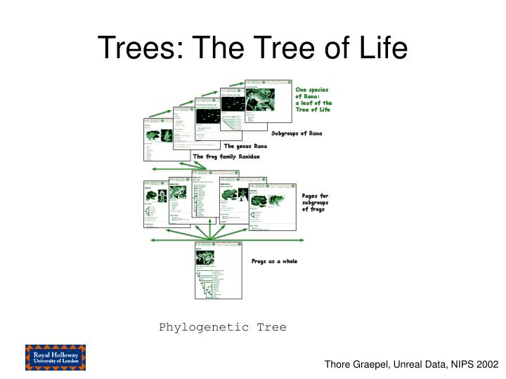 Trees: The Tree of Life