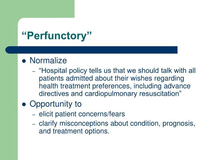 """Perfunctory"""