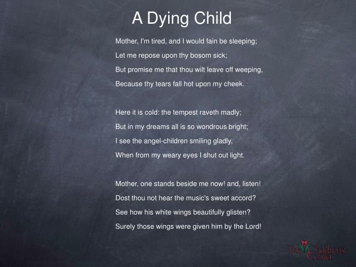 A Dying Child