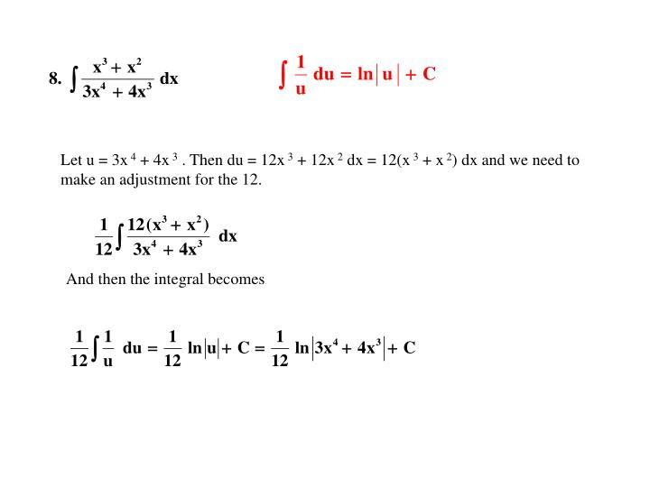 Let u = 3x