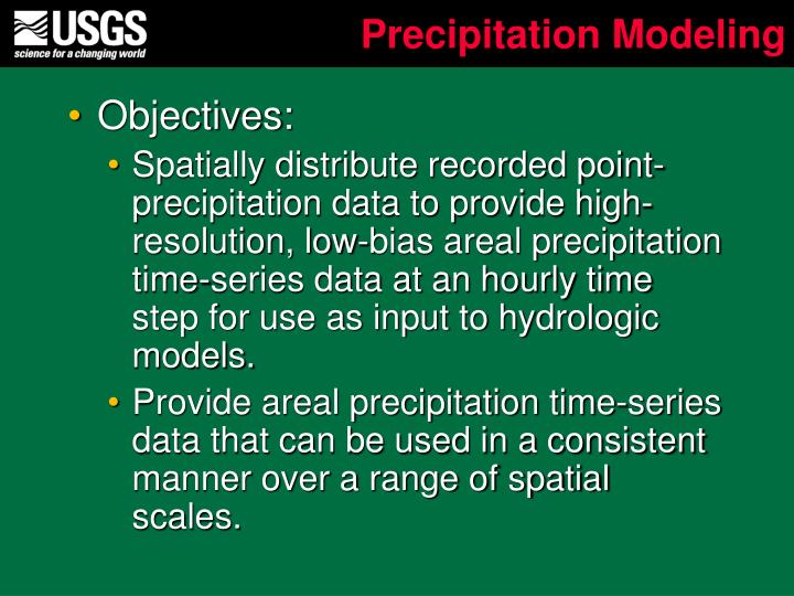 Precipitation Modeling
