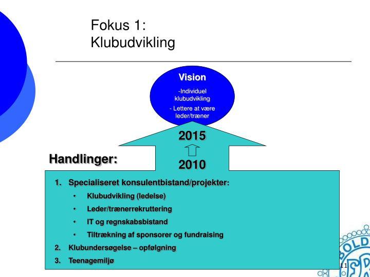 Fokus 1: