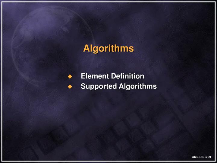 Element Definition