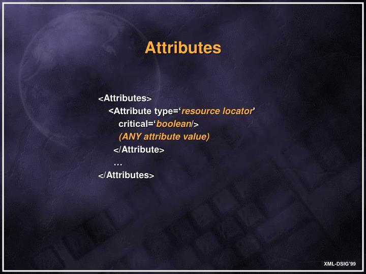 <Attributes>