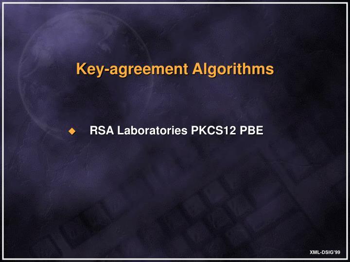 Key-agreement Algorithms