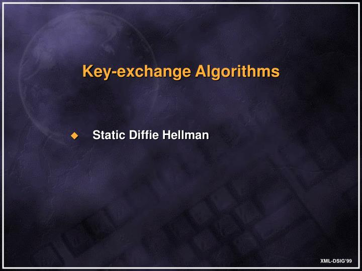 Key-exchange Algorithms