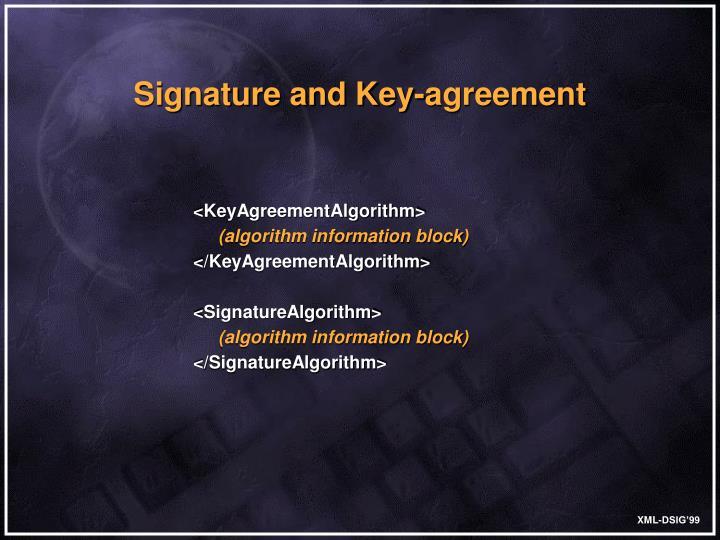 <KeyAgreementAlgorithm>