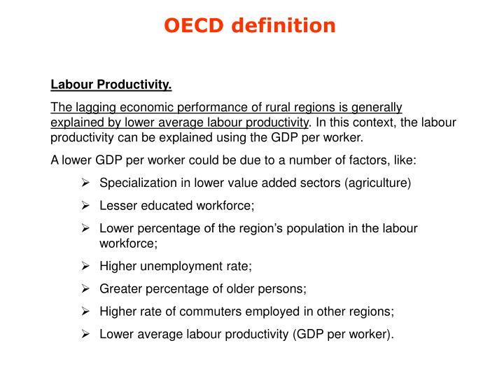 OECD definition