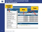 innovative e procurement tools on line auctions2