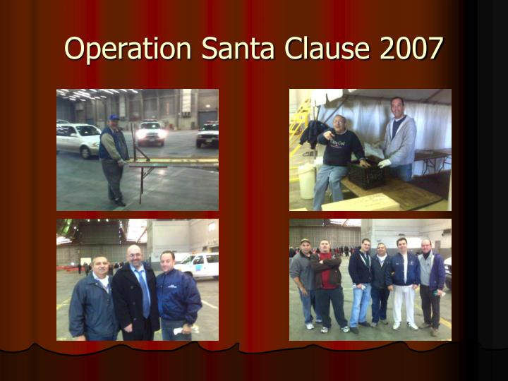 Operation santa clause 20071