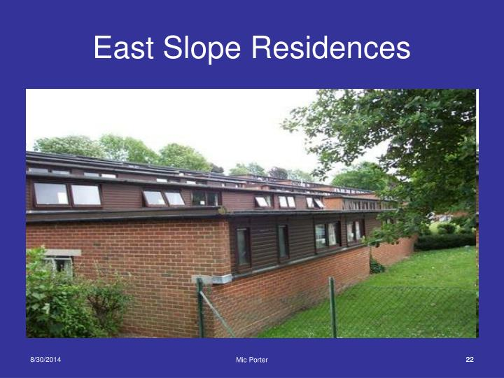 East Slope Residences