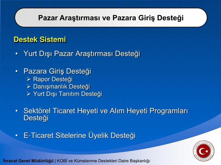 Destek Sistemi