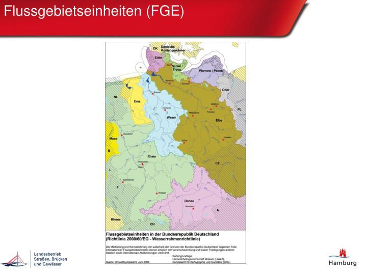 Flussgebietseinheiten (FGE)