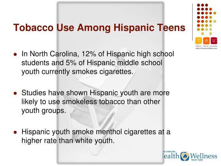 Tobacco Use Among Hispanic Teens
