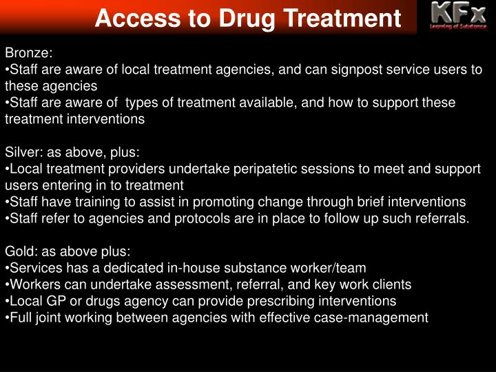 Access to Drug Treatment