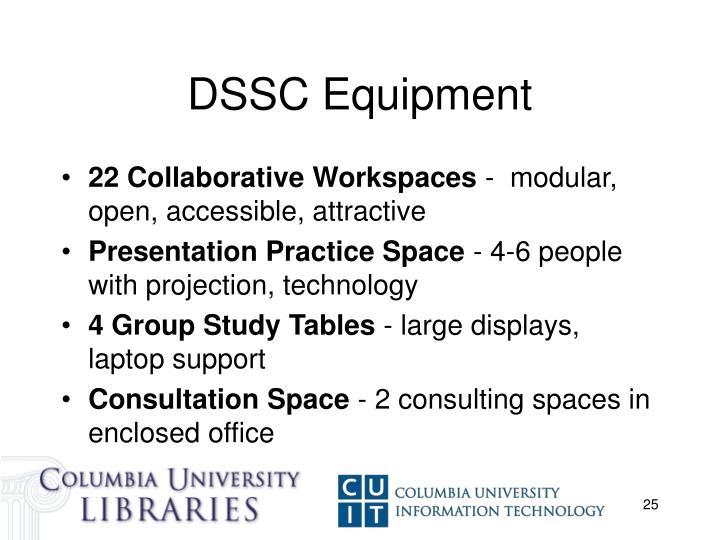 DSSC Equipment