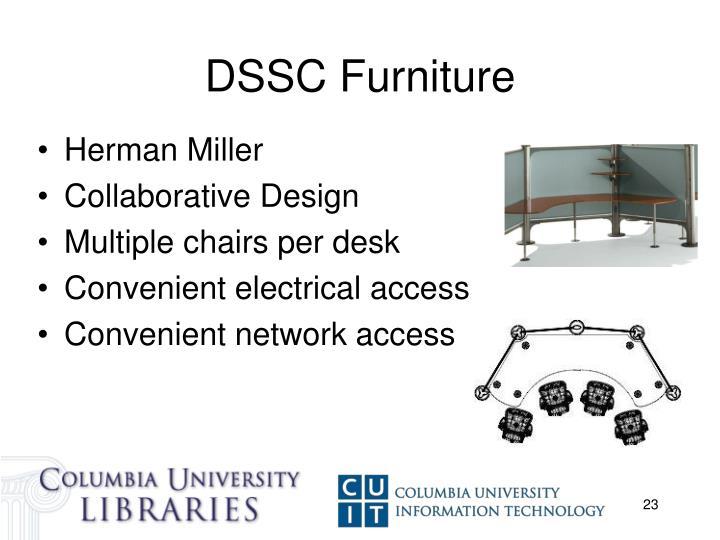 DSSC Furniture